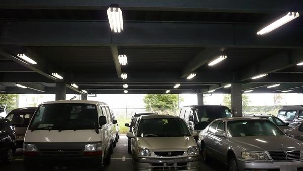 横浜の駐車場照明工事のサムネイル